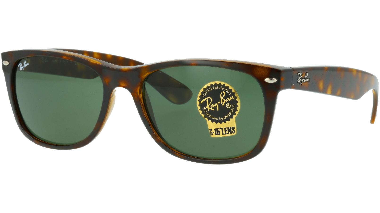 Ray-Ban RB2132 902 58 Tortoise Wayfarer Sunglasses