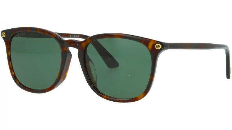 Gucci GG0154SA 002 53 AVANA Sunglasses
