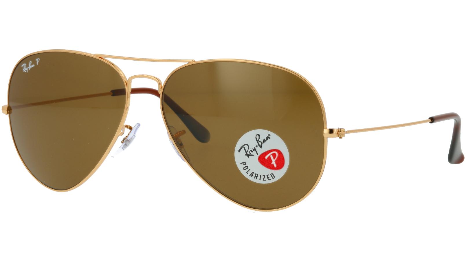 Ray-Ban RB3025 001/57 62 Arista Polarized Sunglasses