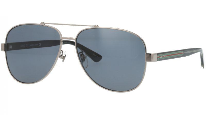 Gucci GG0528S 007 63 RUTHENIUM Sunglasses