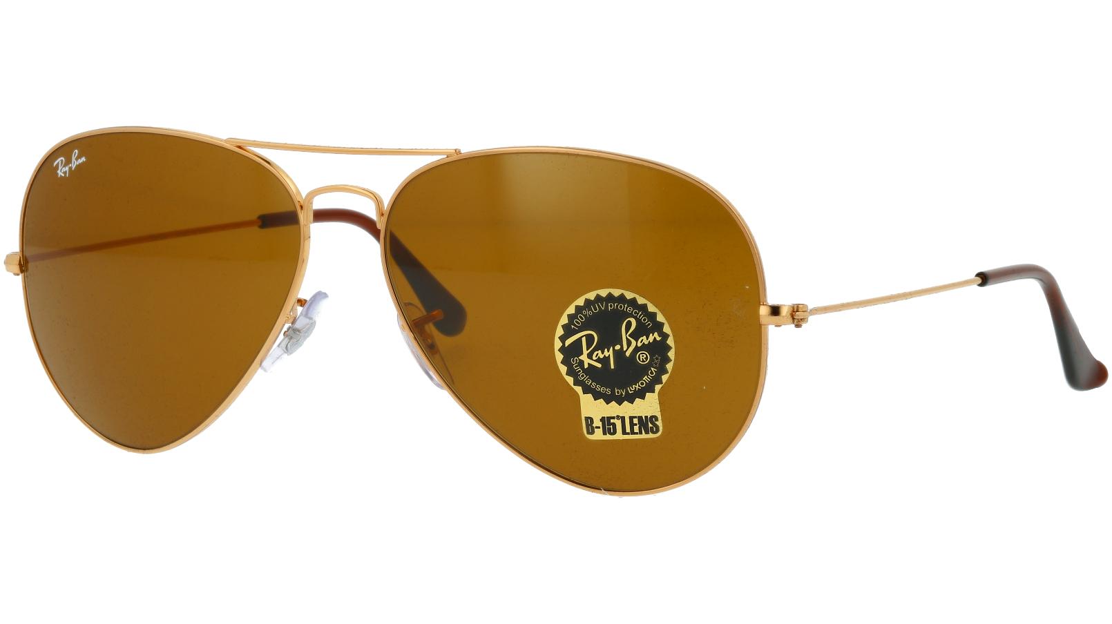 Ray-Ban RB3025 001/33 62 Arista Sunglasses