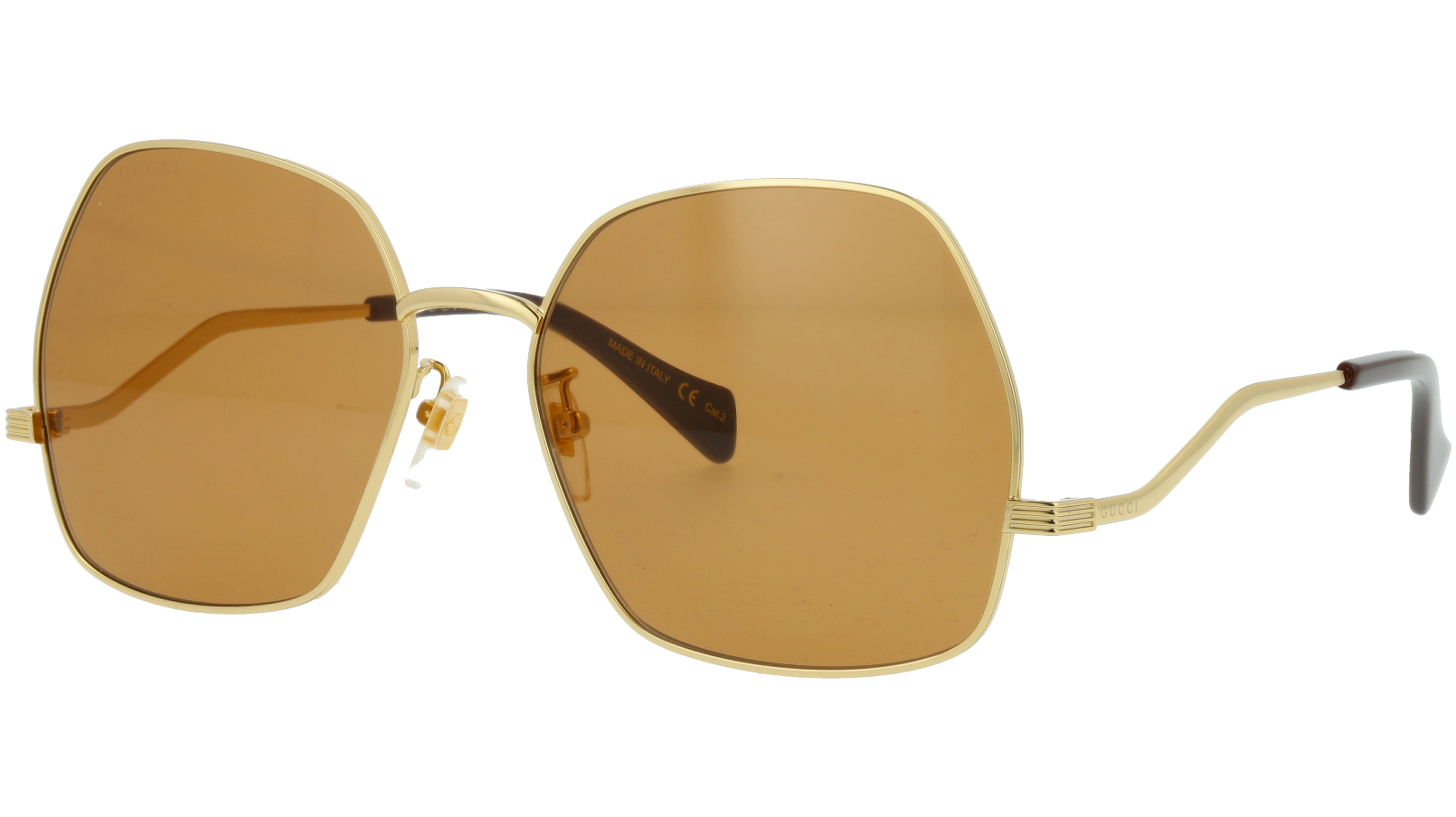 Gucci GG0972S 002 60 GOLD Sunglasses