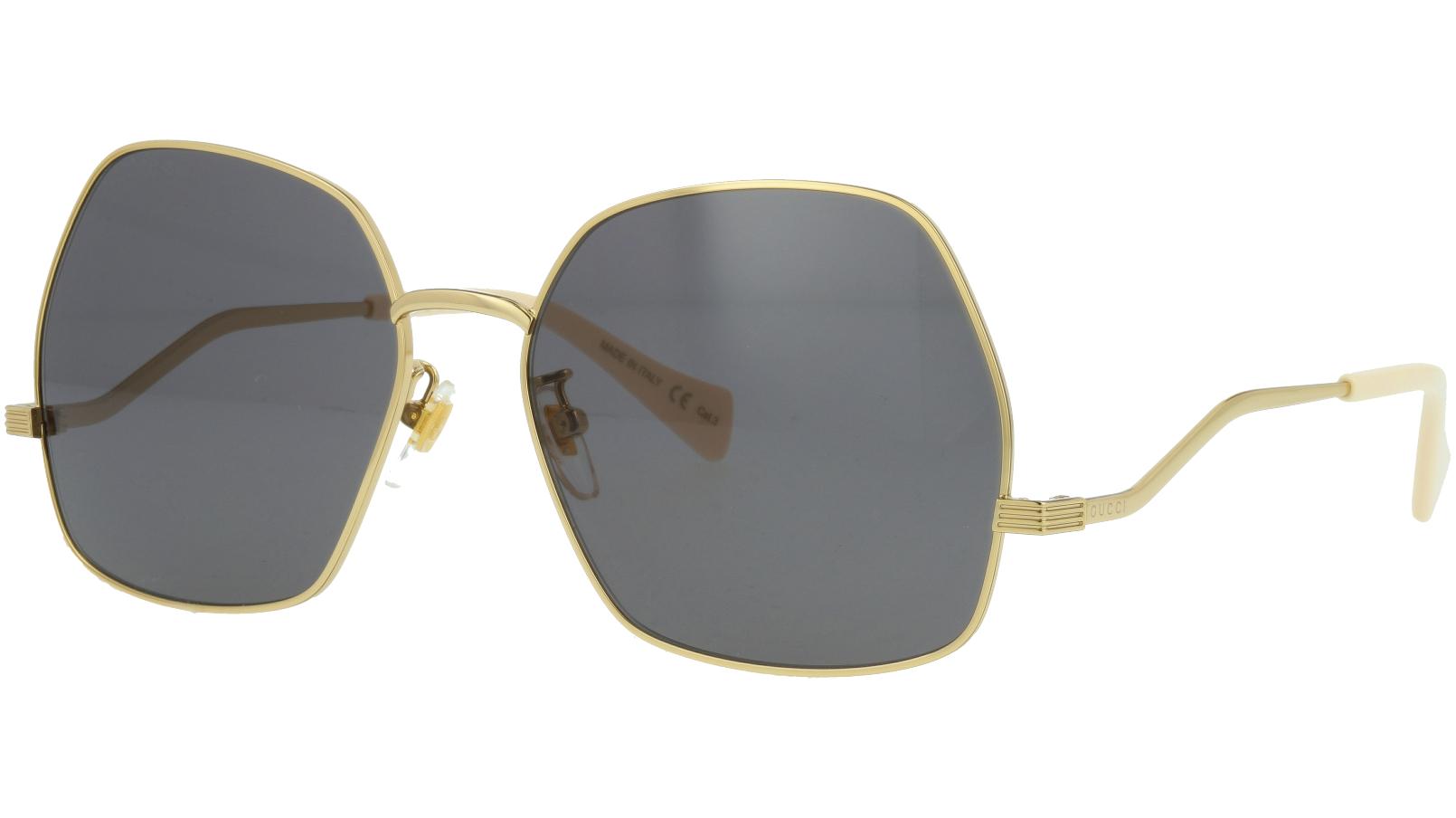 Gucci GG0972S 001 60 GOLD Sunglasses