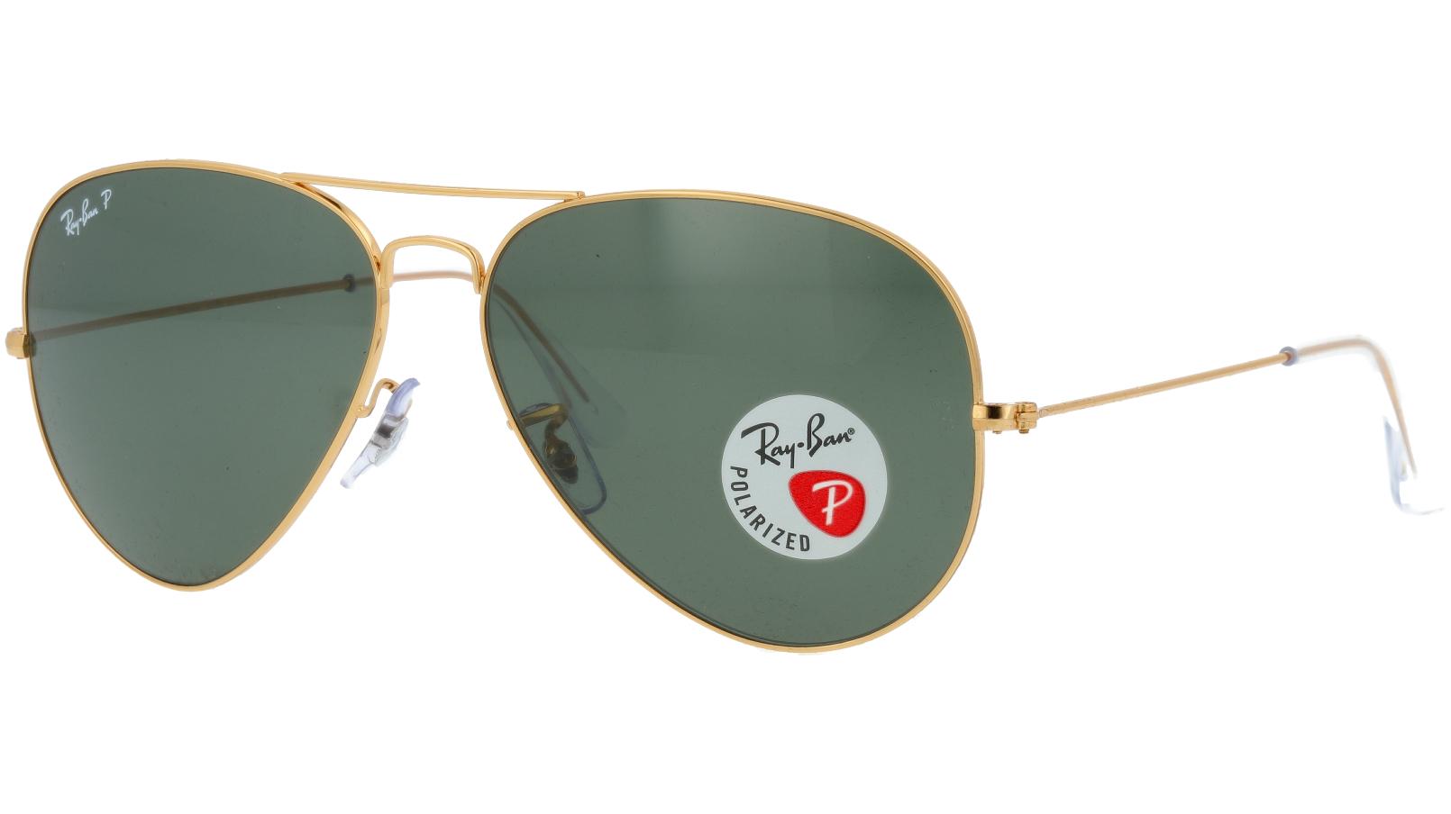 Ray-Ban RB3025 001/58 62 Arista Polarized Sunglasses