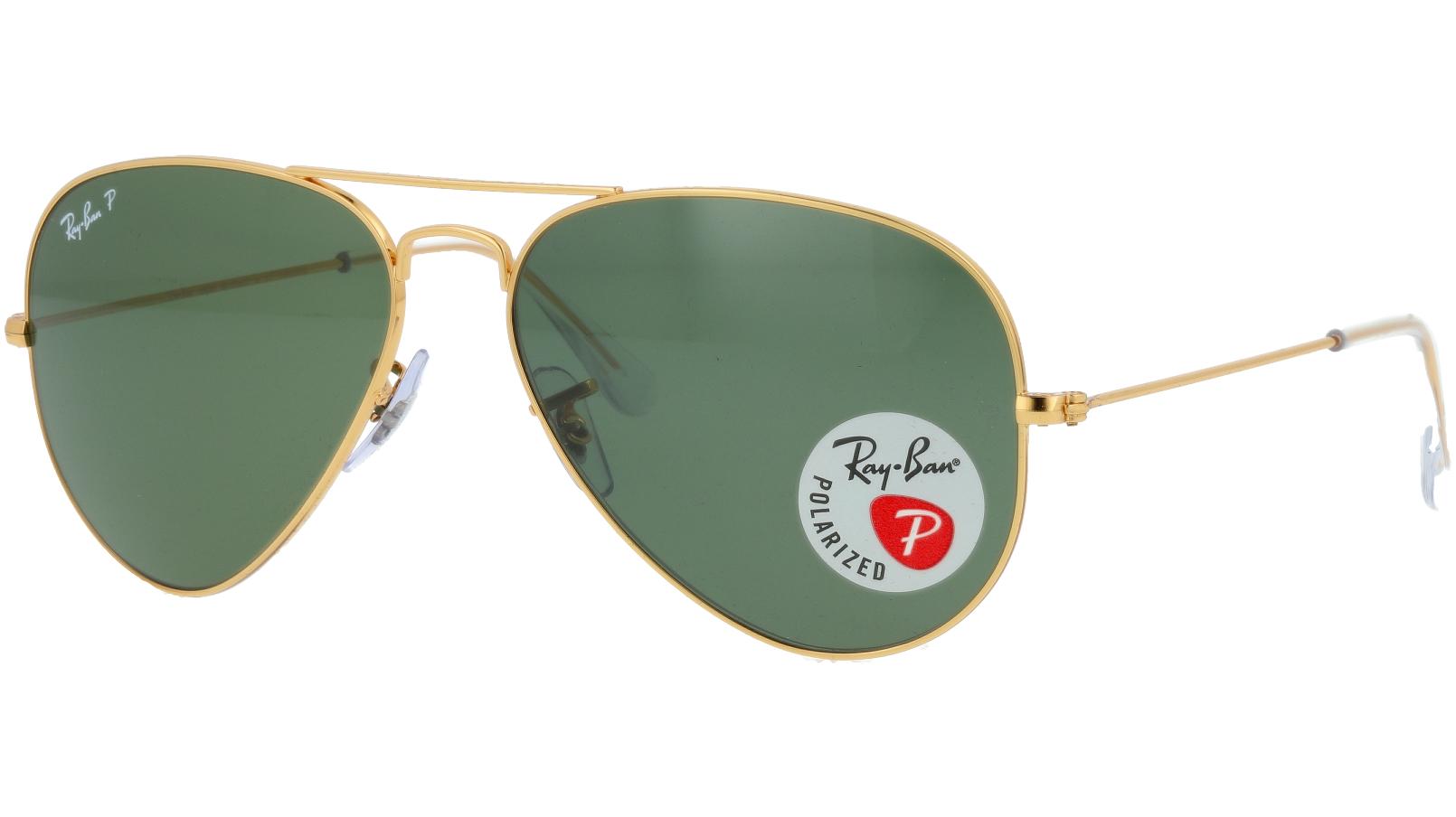 Ray-Ban RB3025 001/58 58 Arista Polarized Sunglasses