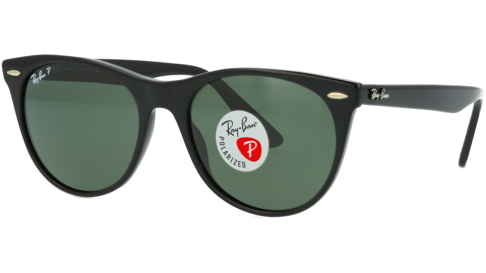 Ray-Ban RB2185 901/58 Black Polarized  Sunglasses
