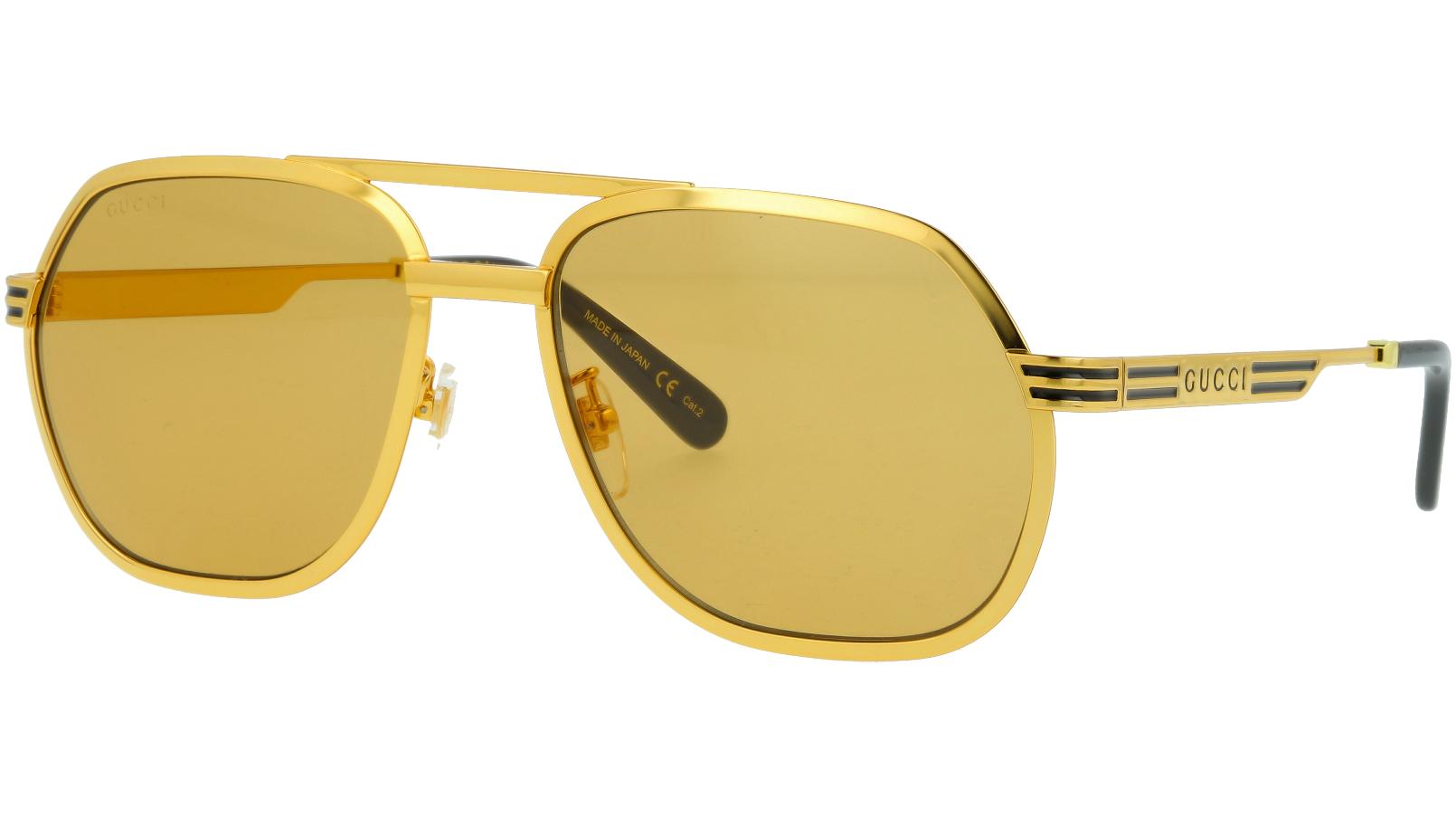 Gucci GG0981S 003 60 GOLD Sunglasses