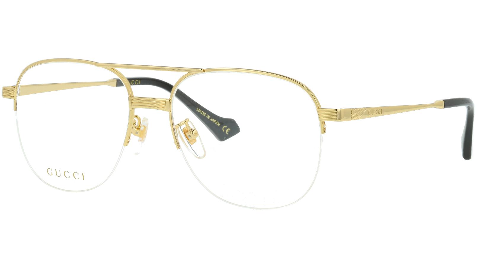 Gucci GG0745O 001 54 GOLD Glasses