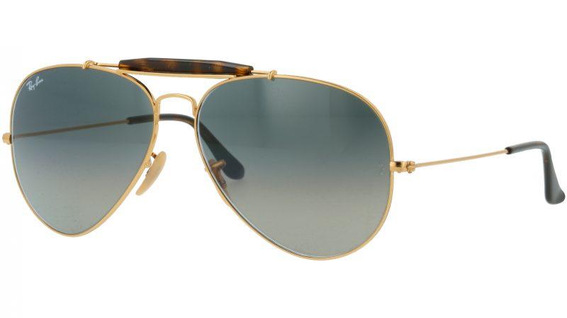 Ray-Ban RB3029 181/71 62 Arista Aviator Sunglasses