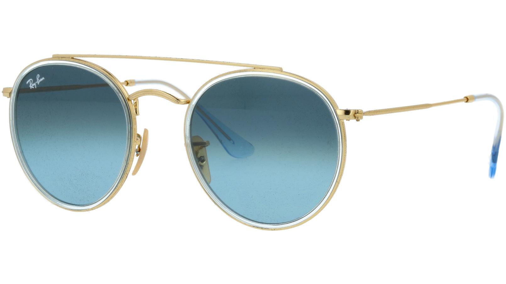 Ray-Ban RB3647N 91233M Arista Round Sunglasses