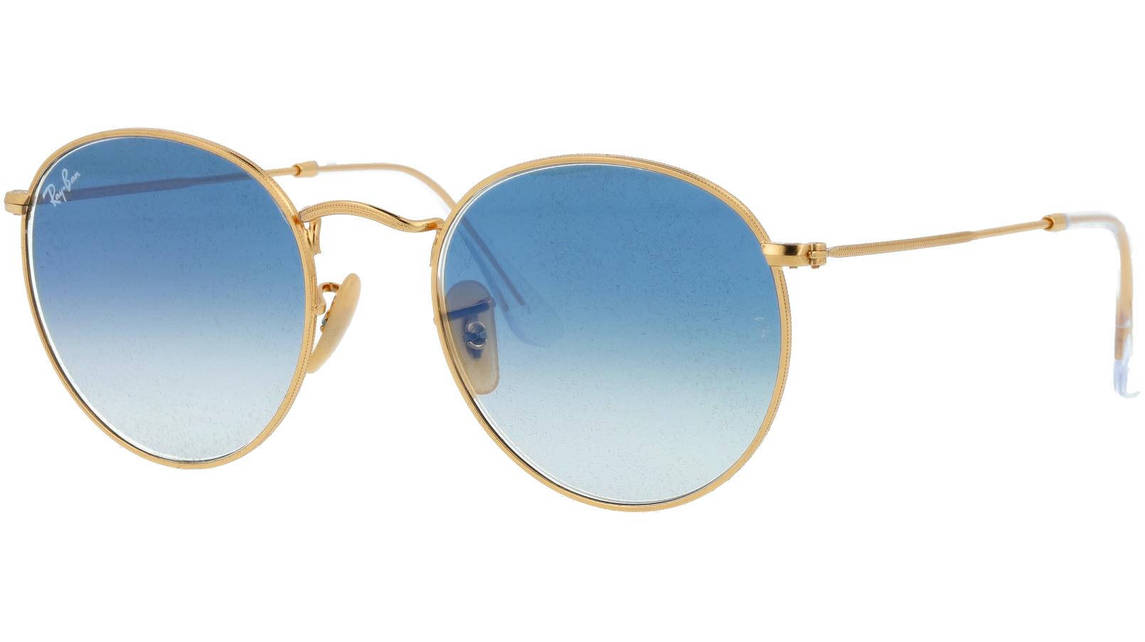 Ray-Ban RB3447N 001/3F Arista Round Sunglasses
