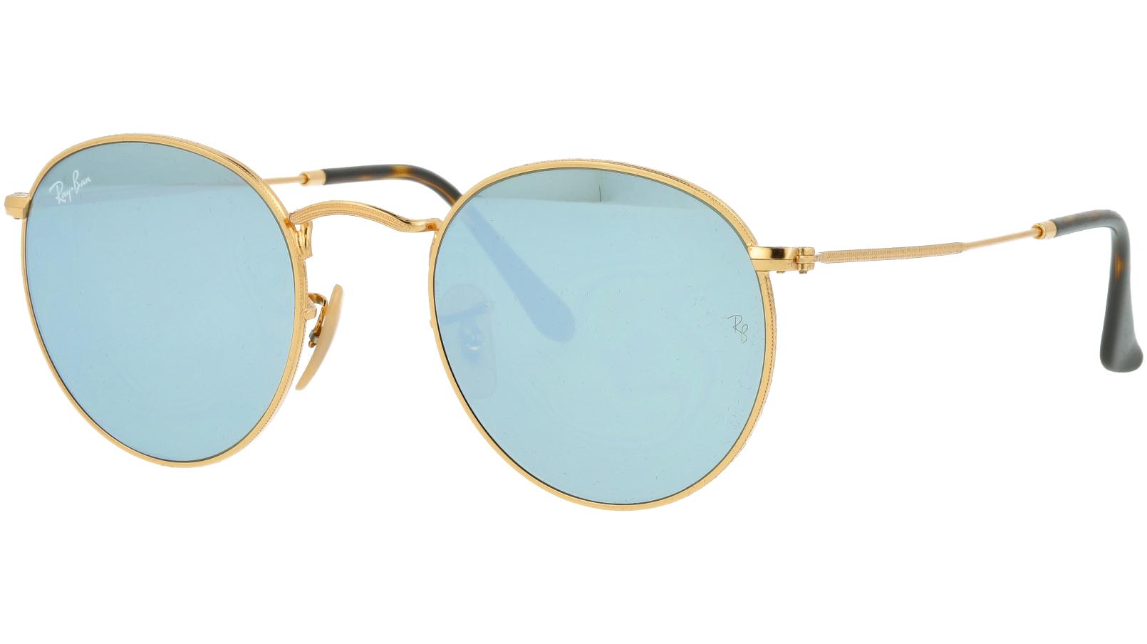 Ray-Ban RB3447N 001/30 Arista Round Sunglasses