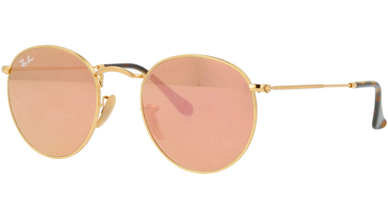 Ray-Ban RB3447N 001/Z2 Arista Round Sunglasses