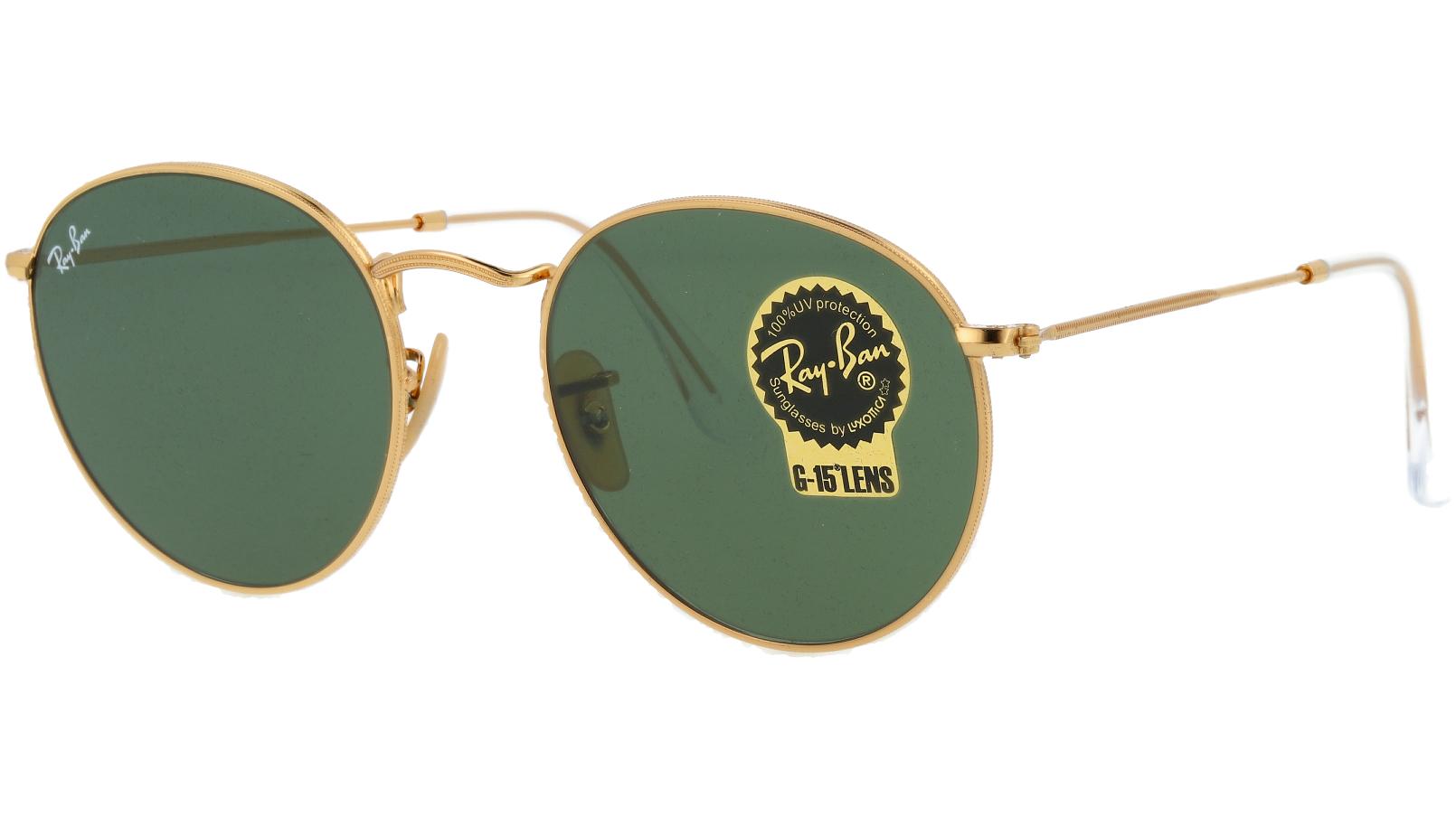 Ray-Ban RB3447N 001 Arista Round Sunglasses