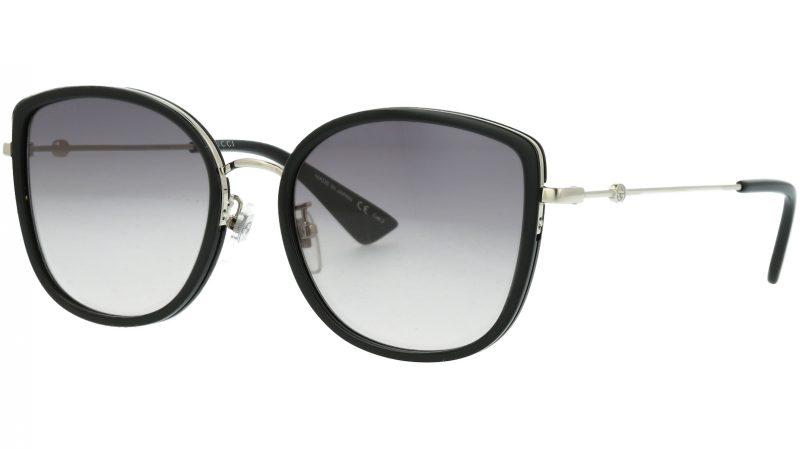Gucci GG0606SK 002 56 BLACK Sunglasses