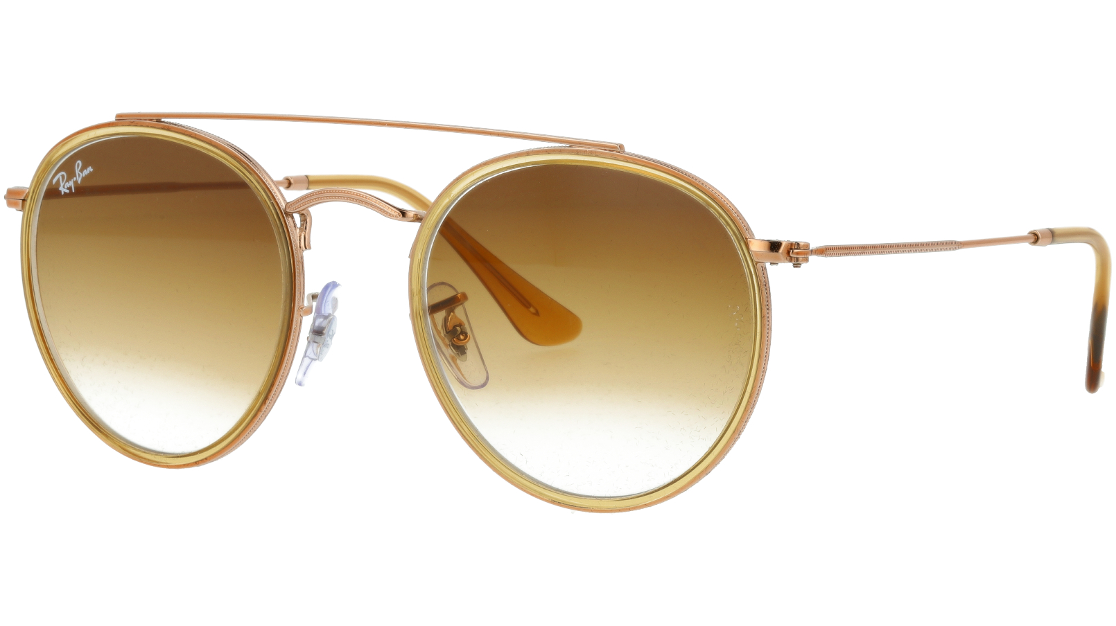 Ray-Ban RB3647N 907051 Copper Round Sunglasses