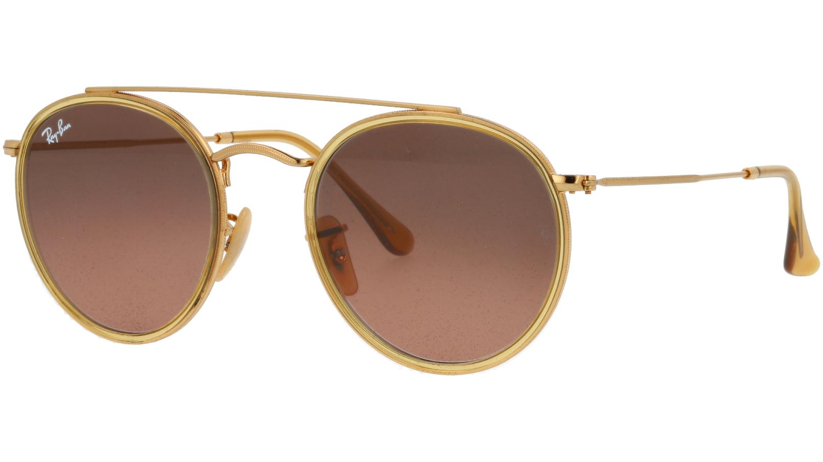 Ray-Ban RB3647N 912443 Arista Round Sunglasses