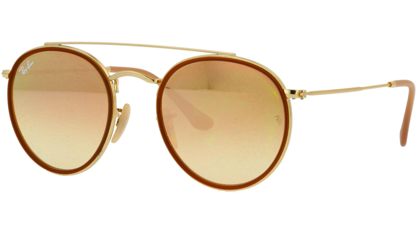 Ray-Ban RB3647N 001/7O Arista Round Sunglasses