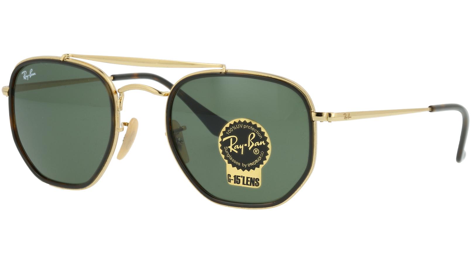 Ray-Ban RB3648M 001 52 Arista Sunglasses