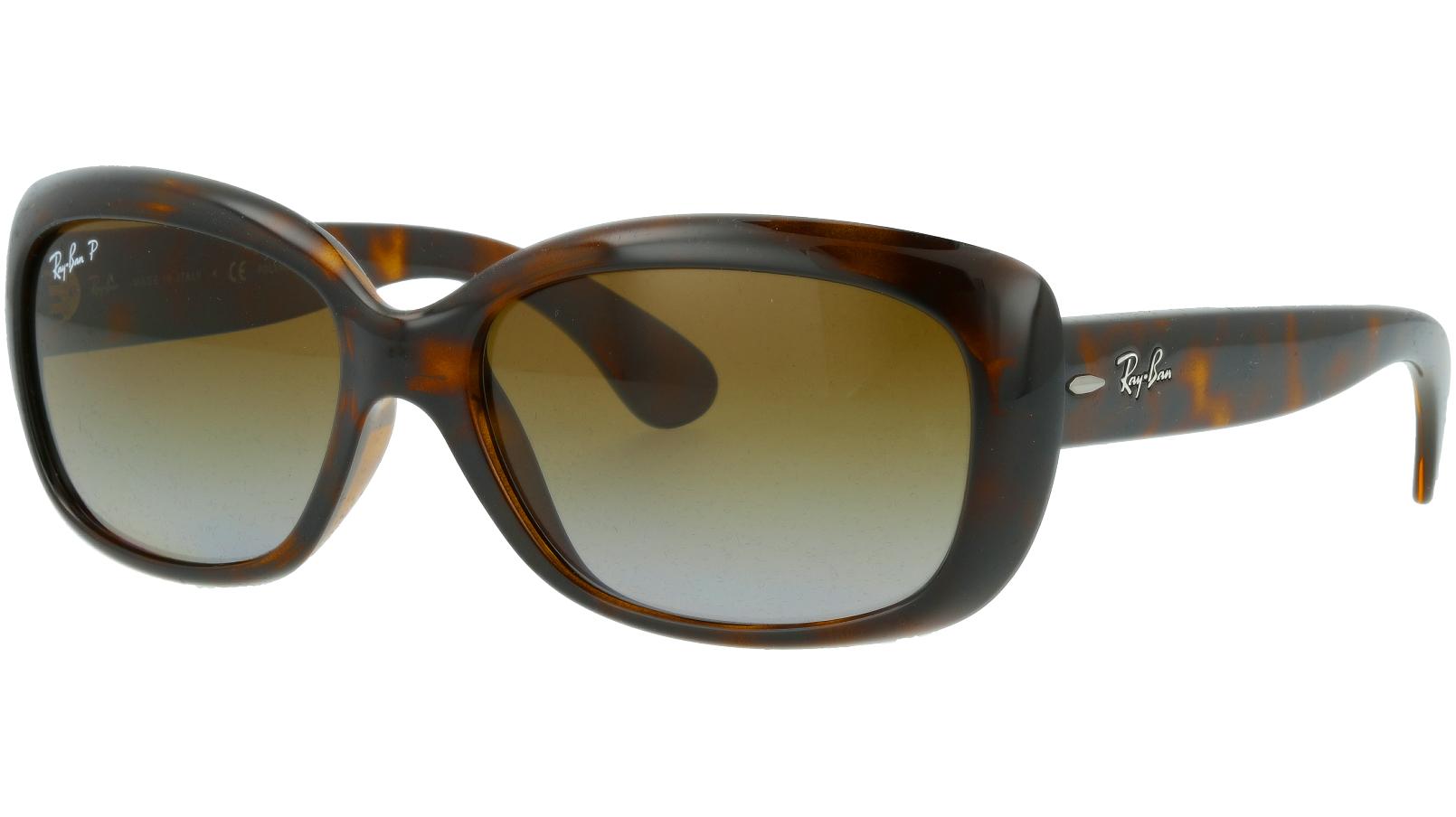 Ray-Ban RB4101 710/T5 Light Havana Polarized  Sunglasses