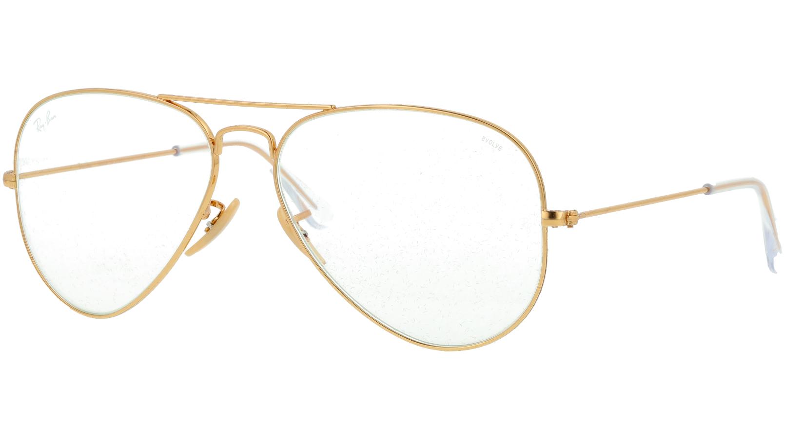 Ray-Ban RB3025 001/5F 58 Arista Pilot Sunglasses