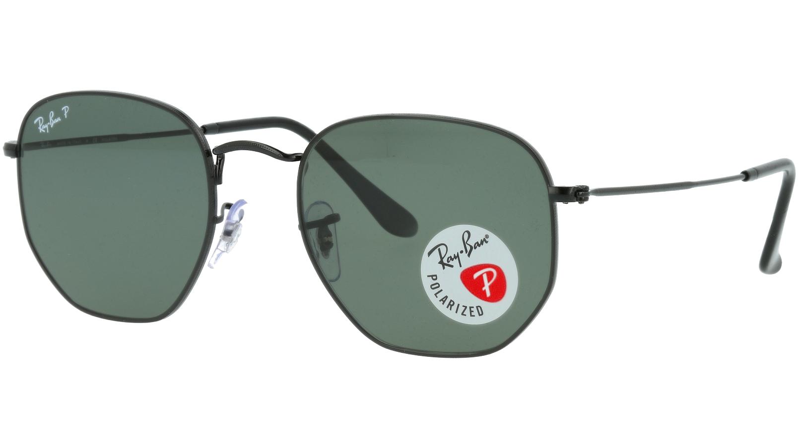 Ray-Ban RB3548N 002/58 Black Polarized Sunglasses