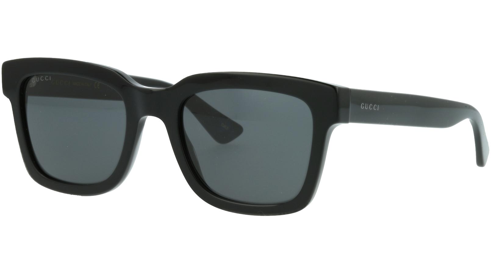Gucci GG0001S 001 52 BLACK  Sunglasses