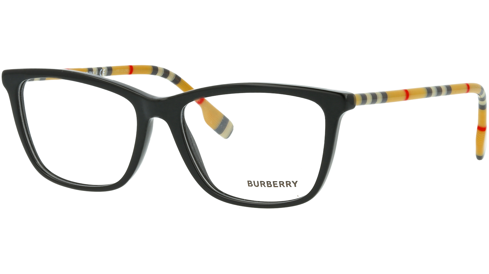 Burberry BE2326 3853 54 BLACK Glasses