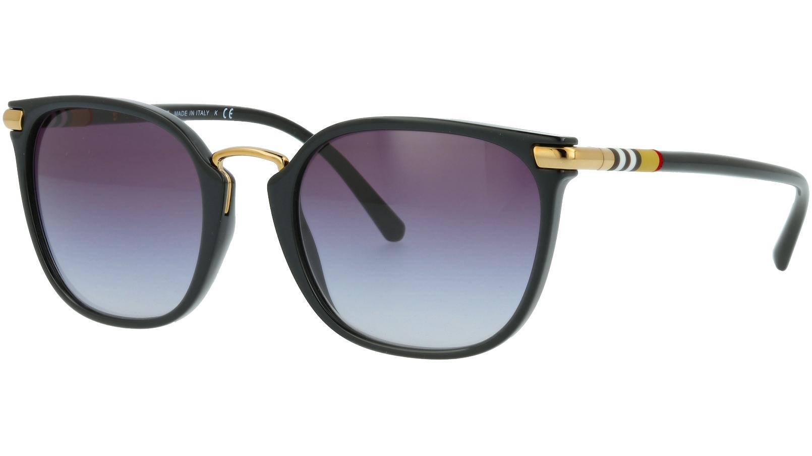 Burberry BE4262 30018G 53 BLACK Sunglasses