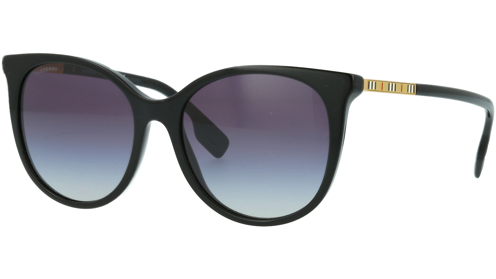 Burberry BE4333 30018G 55 BLACK Sunglasses