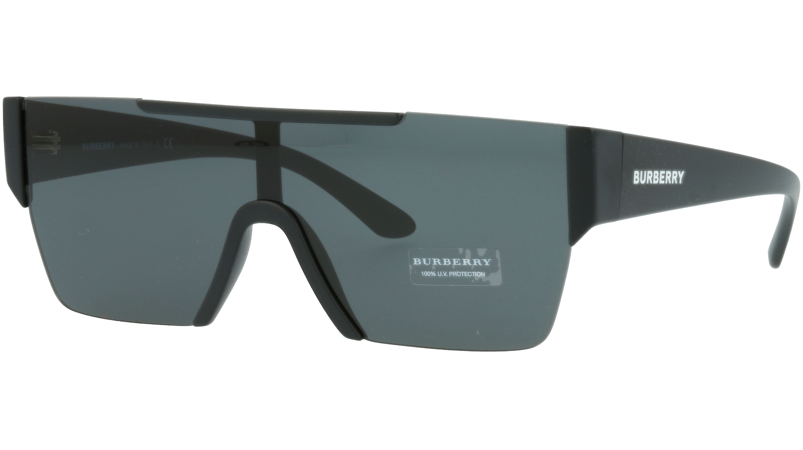 Burberry BE4291 3001/G 38 BLACK Sunglasses