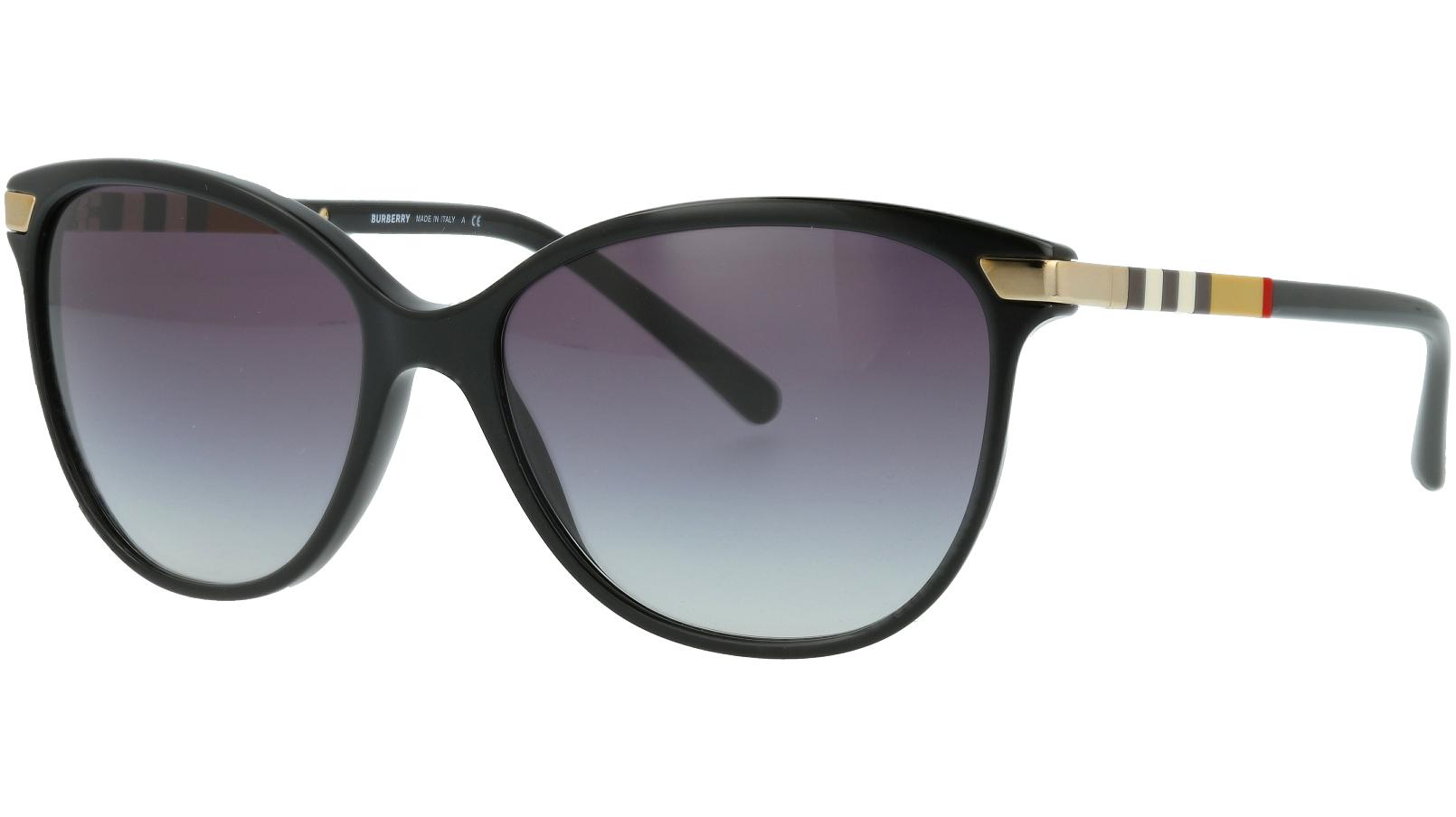 Burberry BE4216 30018G 57 BLACK Sunglasses