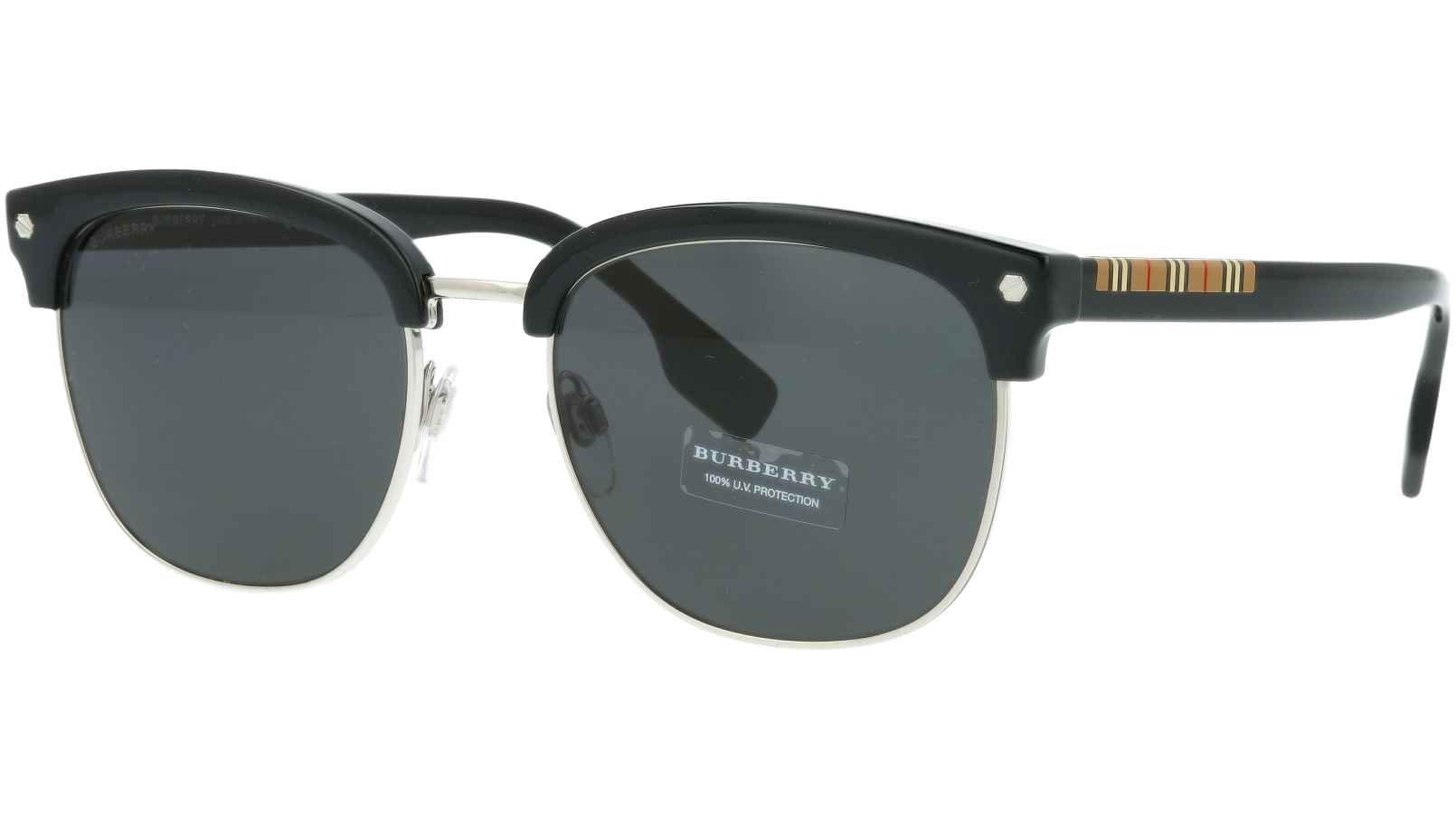 Burberry BE4317 300187 55 BLACK Sunglasses
