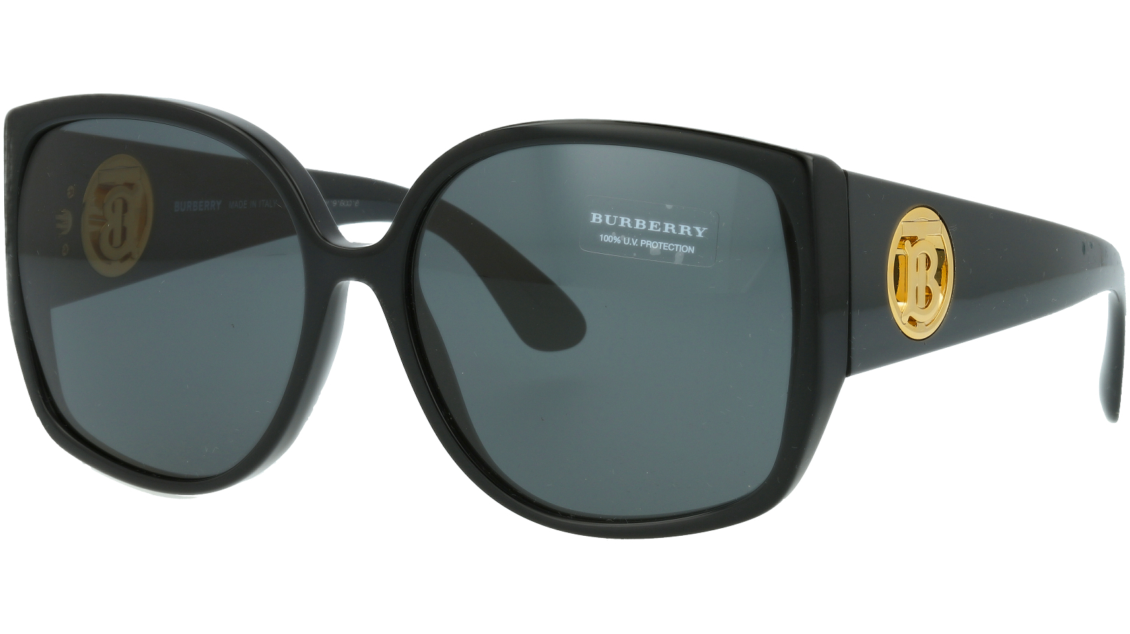 Burberry BE4290 300187 61 BLACK Sunglasses
