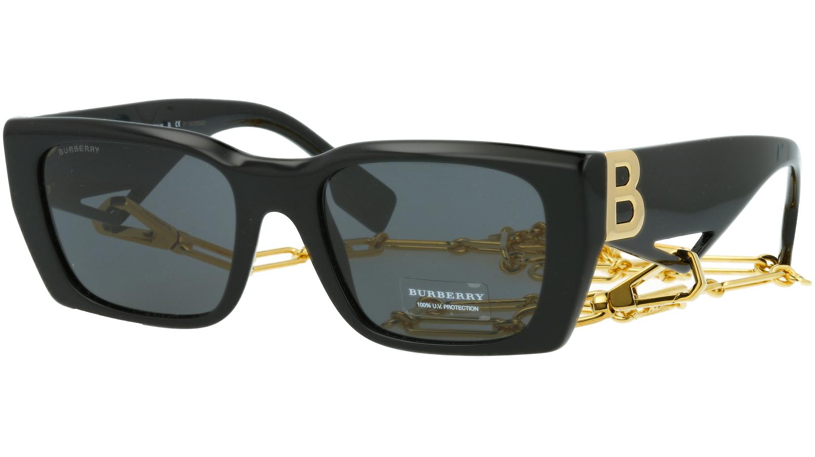 Burberry BE4336 392887 53 BLACK Sunglasses