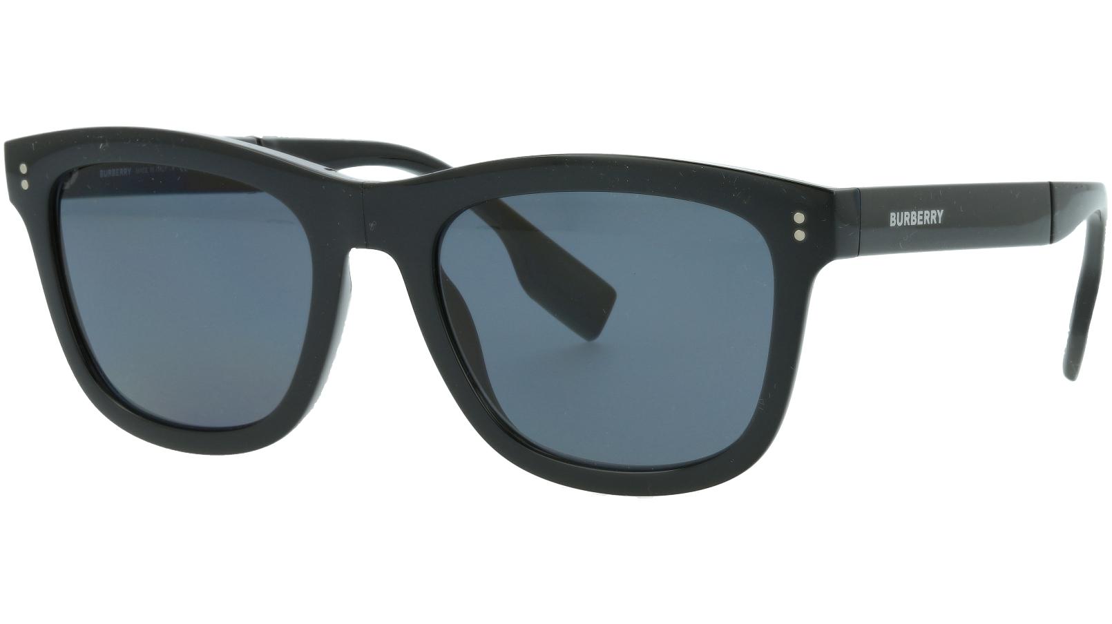 Burberry BE4341 3001T8 55 BLACK Polarized Sunglasses