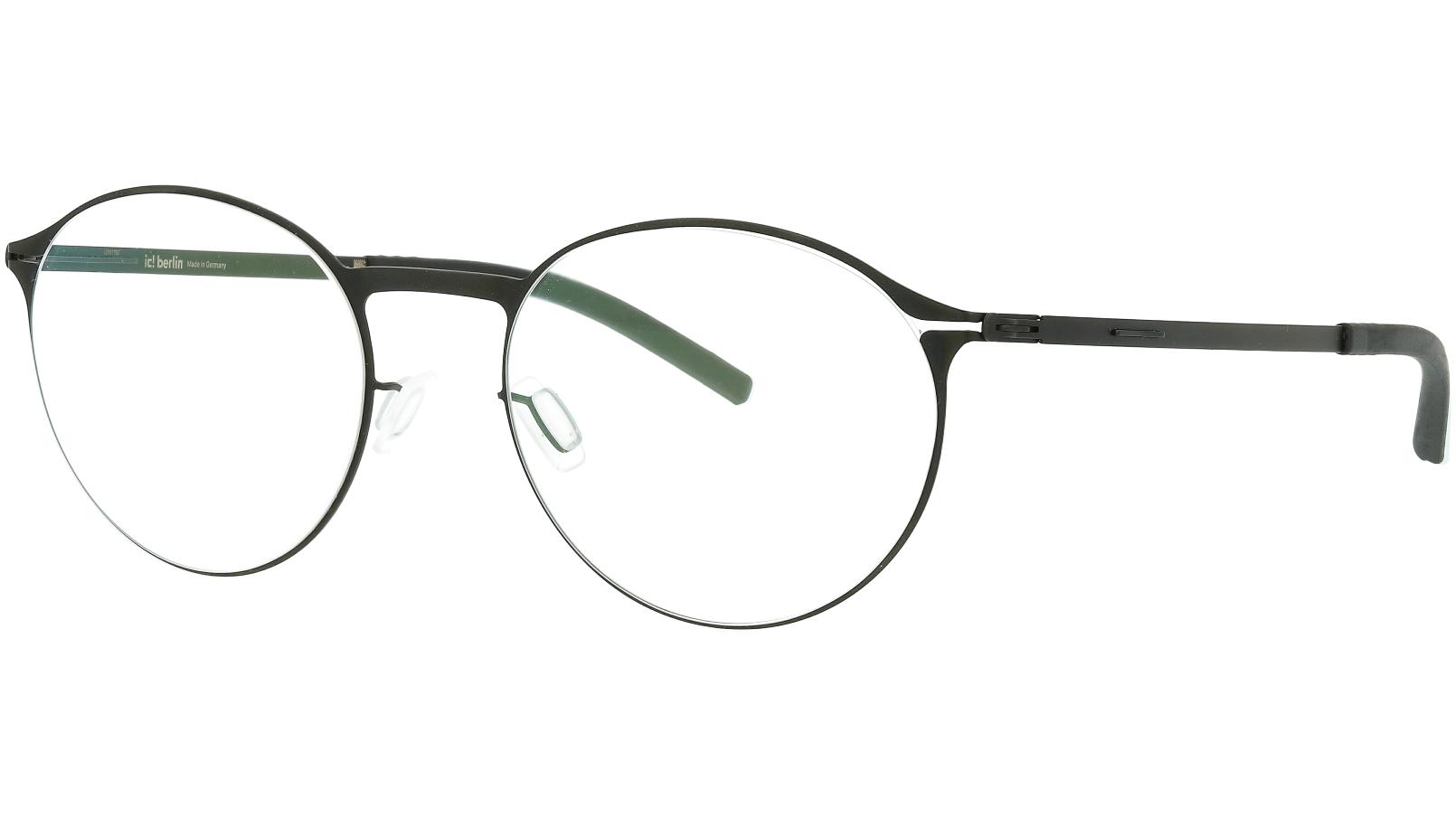 ic! Berlin Etesians 2.0 Black 49 Flex Glasses