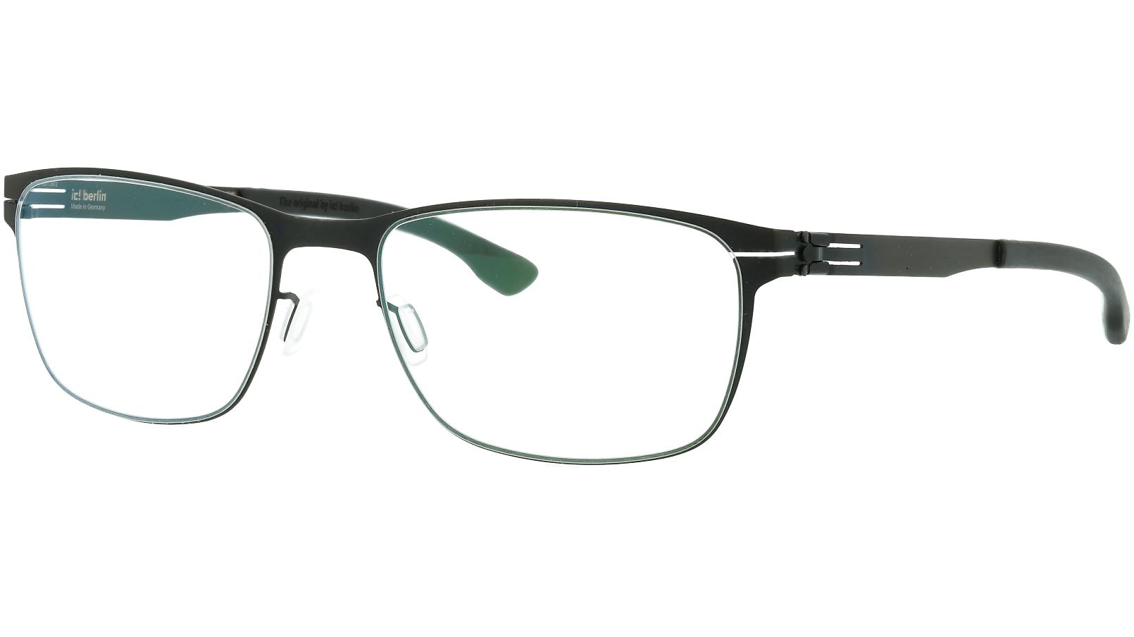 ic! Berlin Dennis N. Large Black 56 Donnerstag Glasses