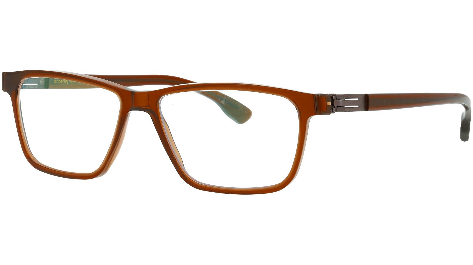 ic! Berlin Data Mahagony 52 Mittwoch Glasses
