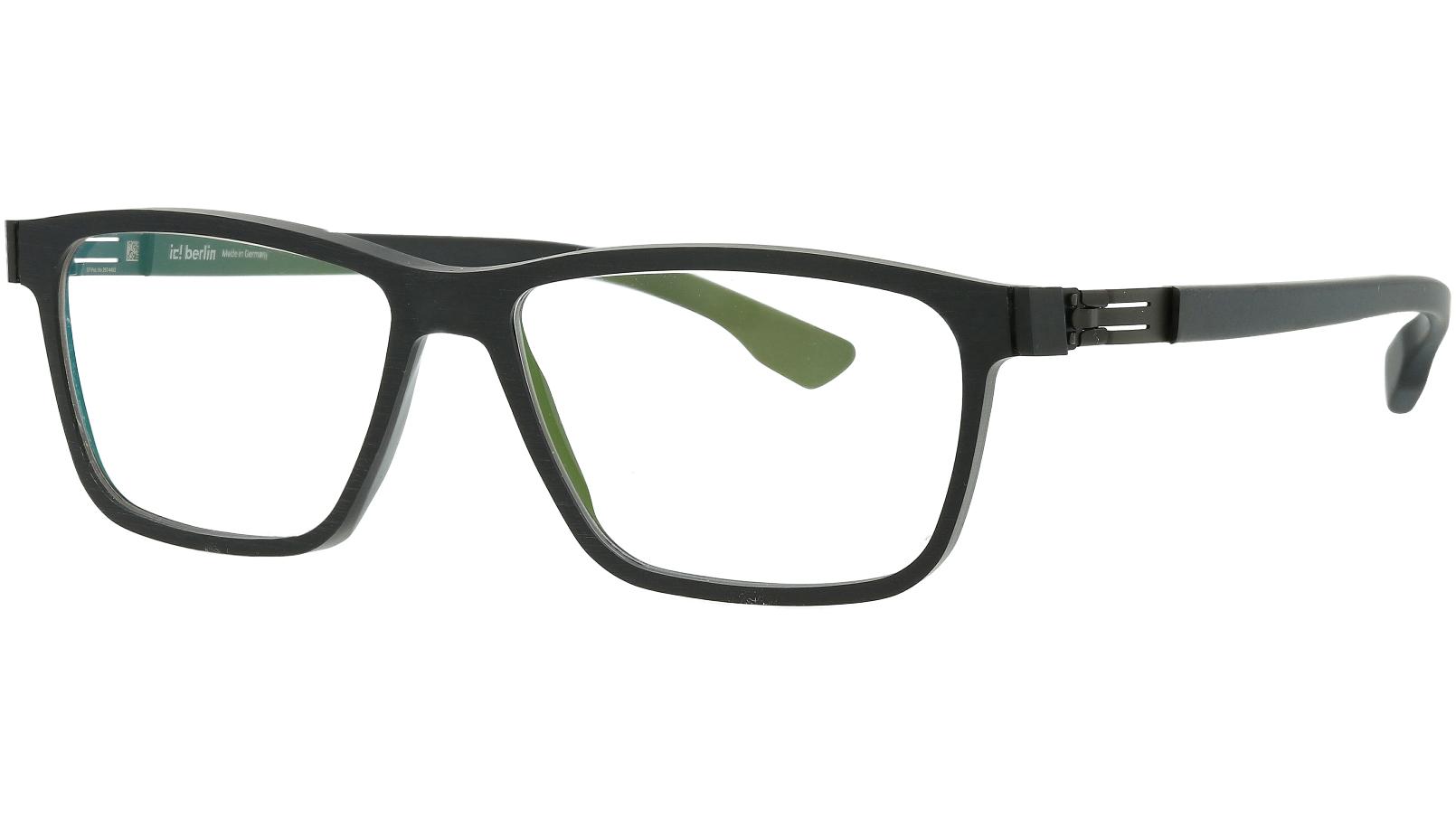 ic! Berlin Data Black-Rough Black 52 Mittwoch Glasses