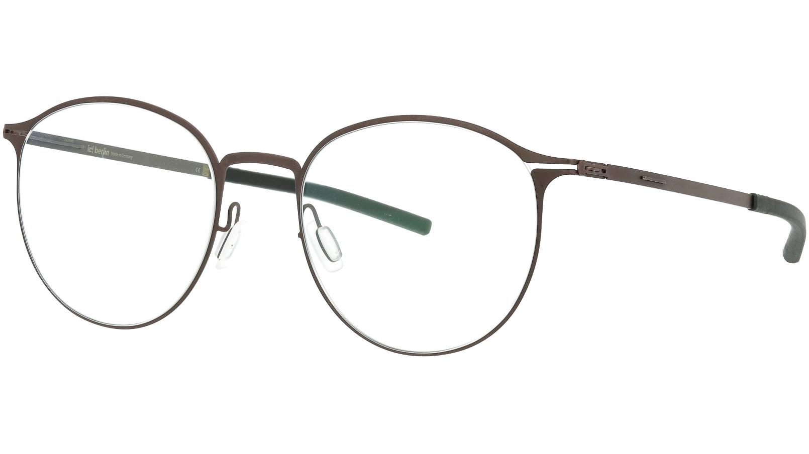 ic! Berlin Amihan 2.0 Teak 50 Flex Glasses