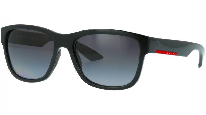 Prada Linea Rossa PS03QS 1AB5W1 57 BLACK Sunglasses