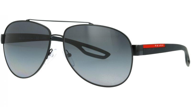 Prada Linea Rossa PS55QS 1AB5W1 62 BLACK Sunglasses