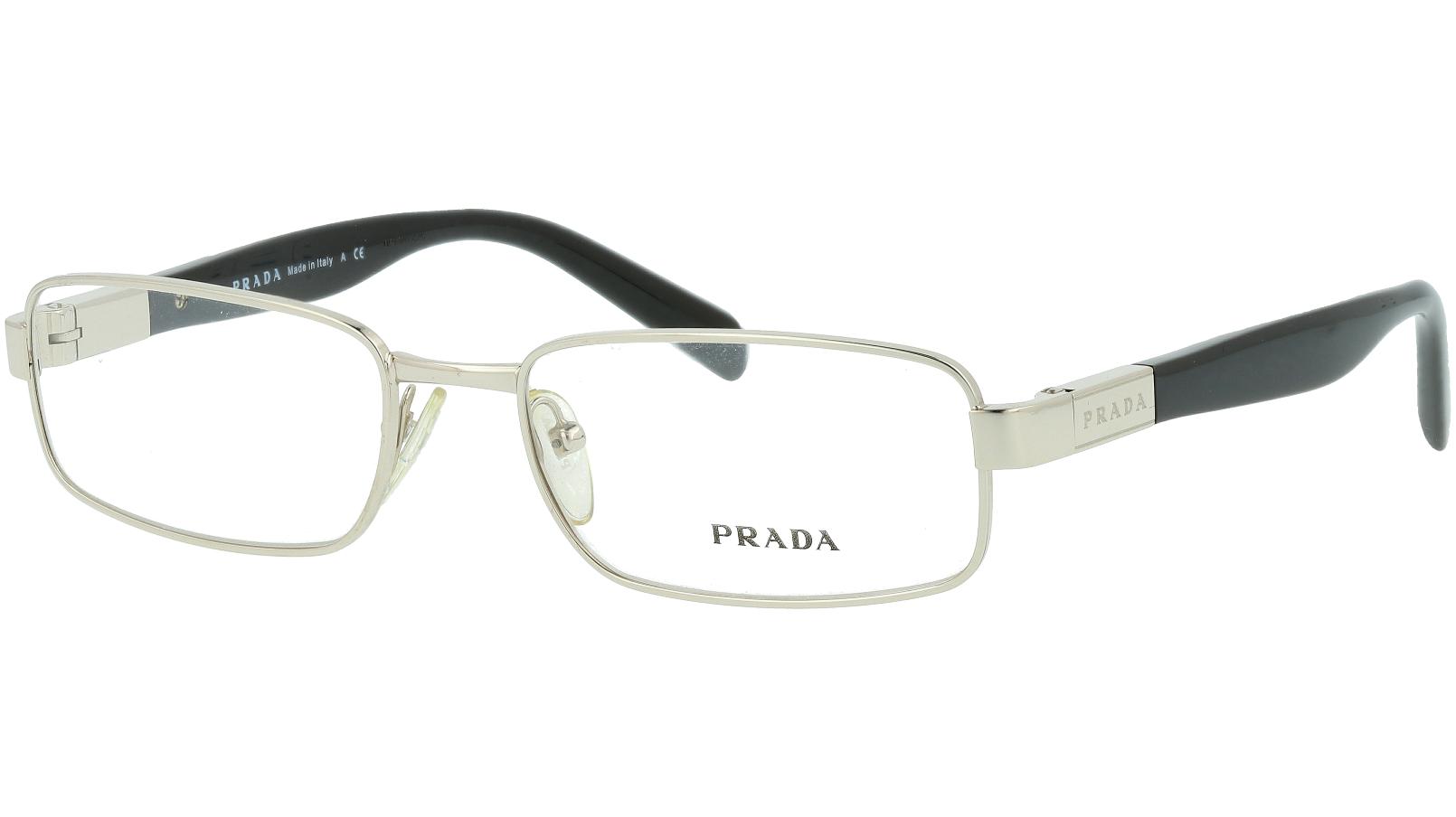 Prada PR50OV 1BC1O1 52 SILVER Glasses