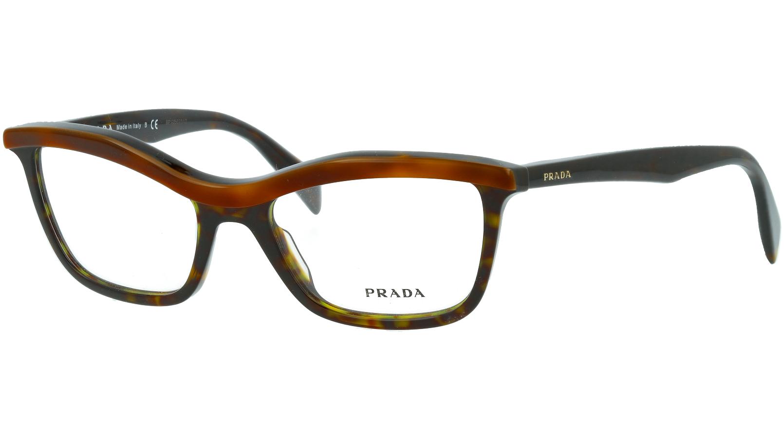 Prada PR17PV MA41O1 52 HAVANA Glasses