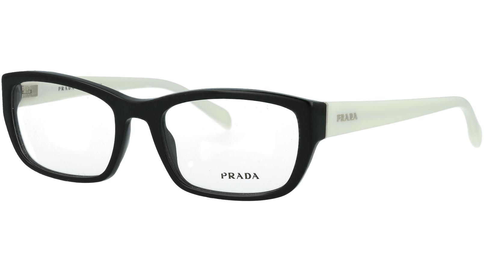 Prada PR18OV 7S31O1 52 BLACK Glasses