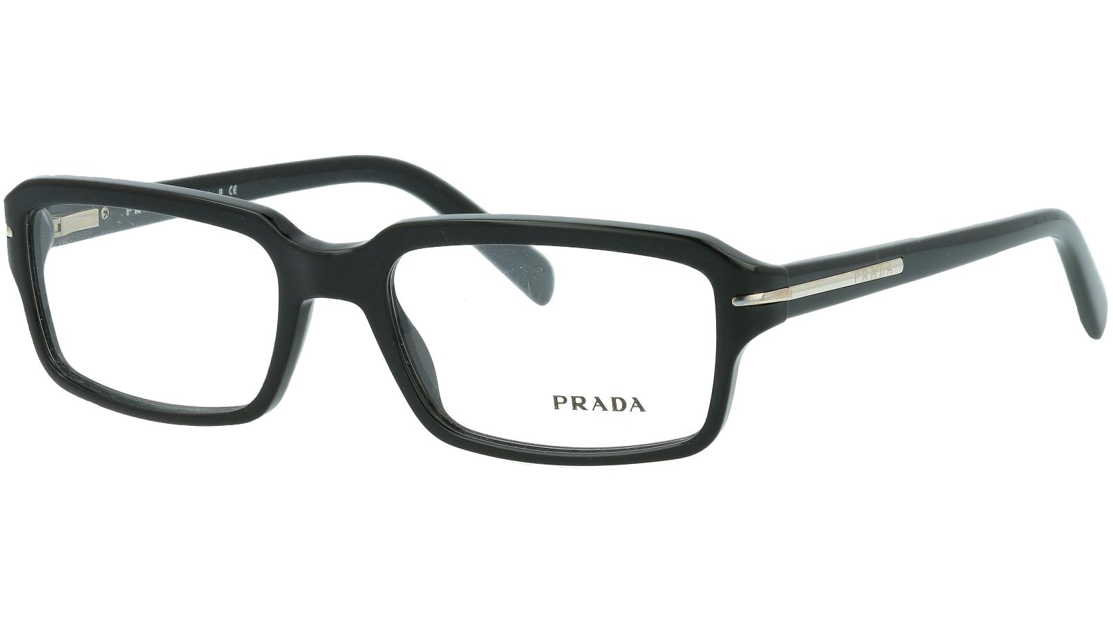 Prada PR09NV 1AB1O1 52 BLACK Glasses