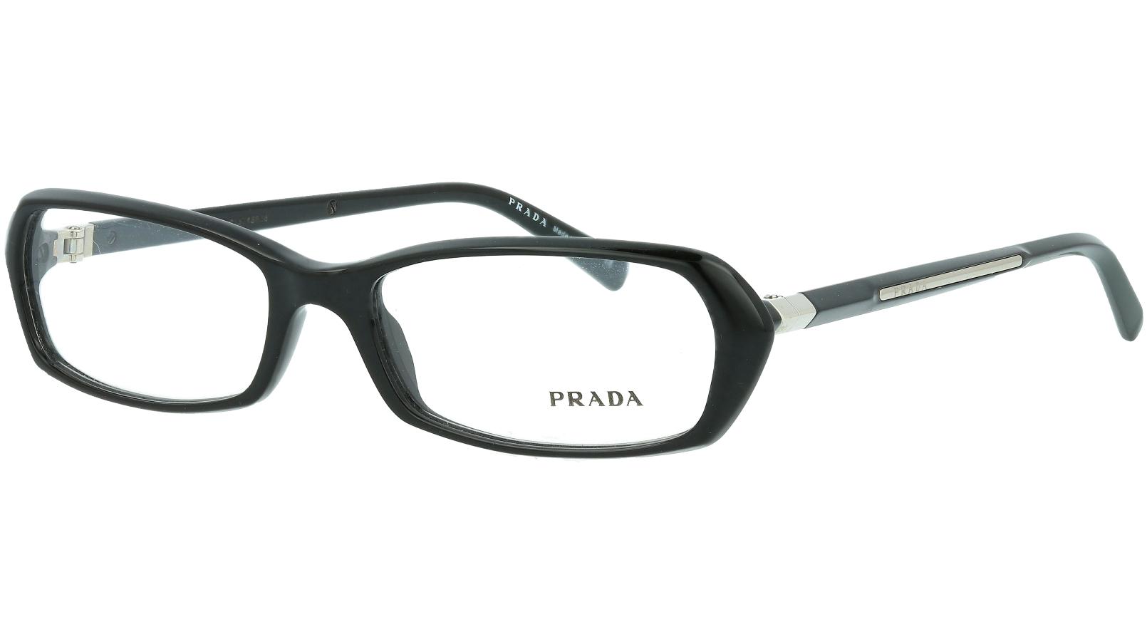 Prada PR04OV 1AB1O1 54 BLACK Glasses