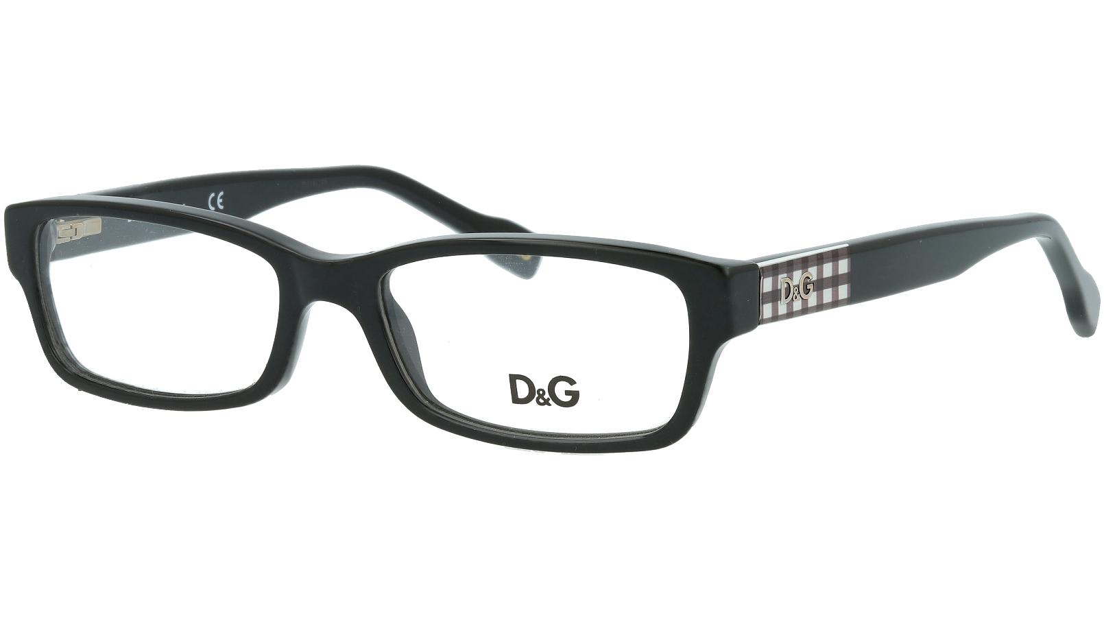 Dolce&Gabbana DG1207 1838 51 BLACK Glasses
