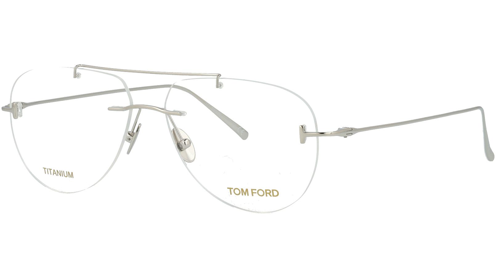 Tom Ford TF5679 018 56 SHINY Titanium Glasses